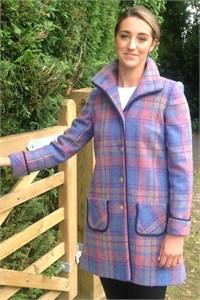 Harris Iona Coat, Lavender
