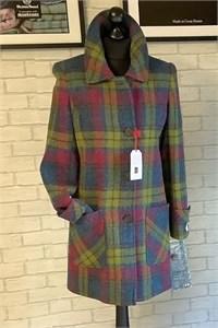Ladies Tweed Coat, Heather