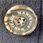 Ladies Herringbone Wool Coat, Navy
