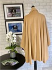 Ladies Wool and Cashmere Cape, Camel
