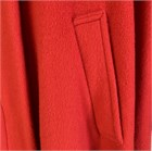Ladies Wool and Cashmere Cape, Red